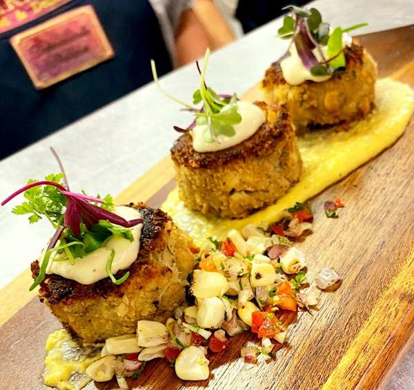 Hand Made Crab Cakes