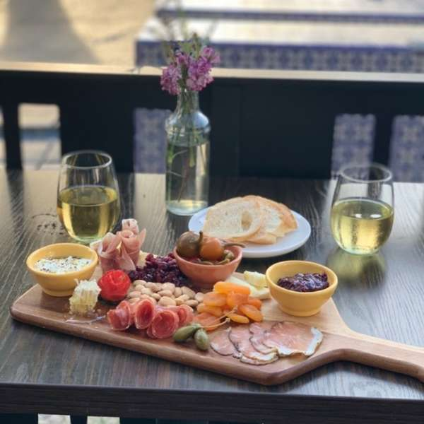 Charcuterie and Cheese Plank