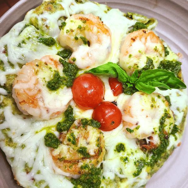 Pistachio Pesto Frittata