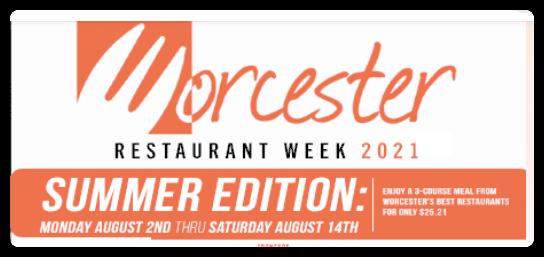 Restaurant Week August 2021