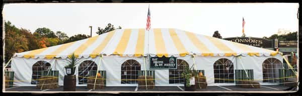 Outside Tent Front