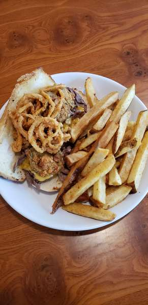 Sirloin Steak and Cheese Sandwich