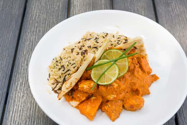*Chicken Tikka Masala and Jasmine Rice