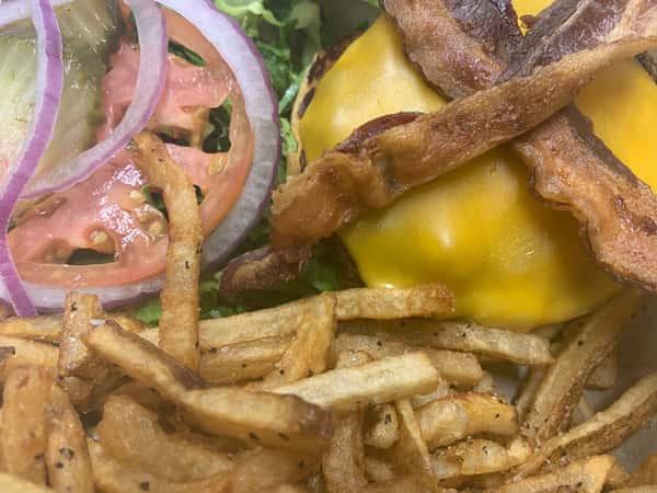 All American Bacon Cheeseburger*