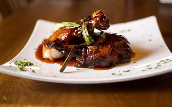 Honey Lacquered Duck