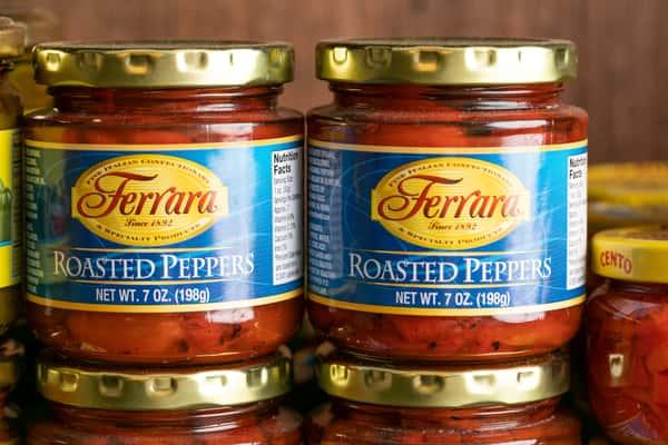 Ferrara Roasted Peppers