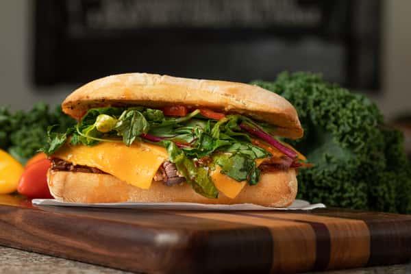 Bitchin Beef Sandwich