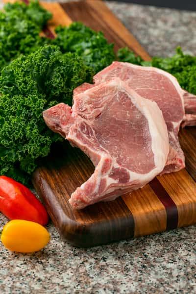 Bone in Pork Chops