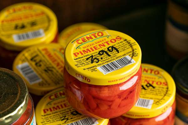 Cento Sliced Sweet Pimentos