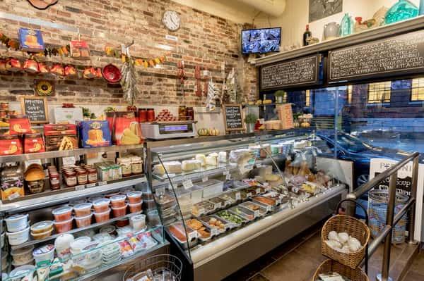 interior of shop