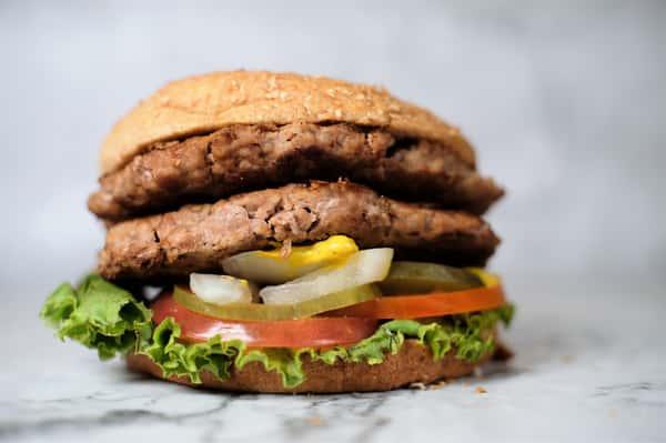 double beef & double burger