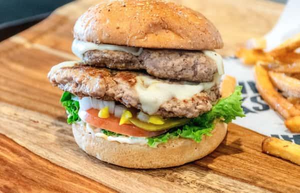 Double US Turkey Burger