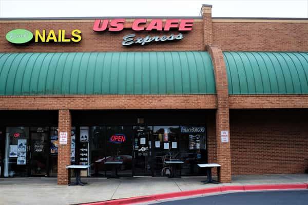exterior of express