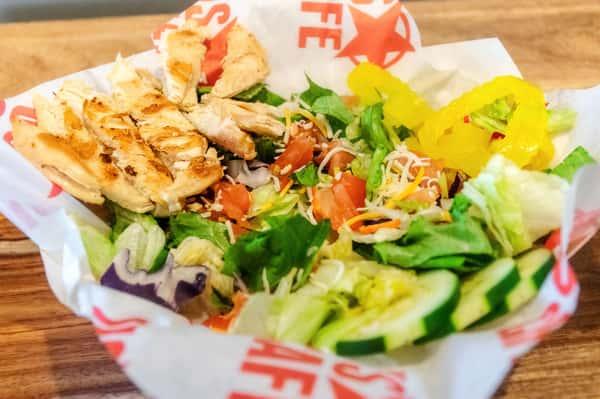 chicken house salad