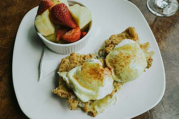 Southern Fried Chicken Benedict*
