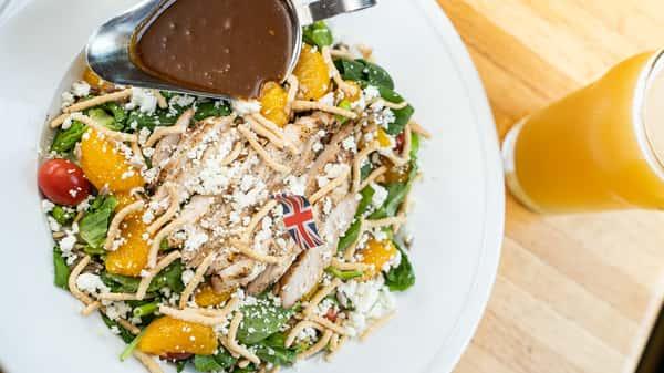 Grilled Chicken Thai Peanut Salad