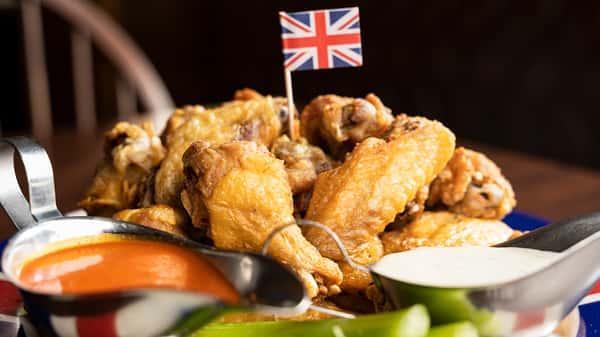 Mango Habanero Chicken Wings