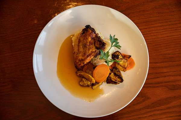 glazed airplane chicken