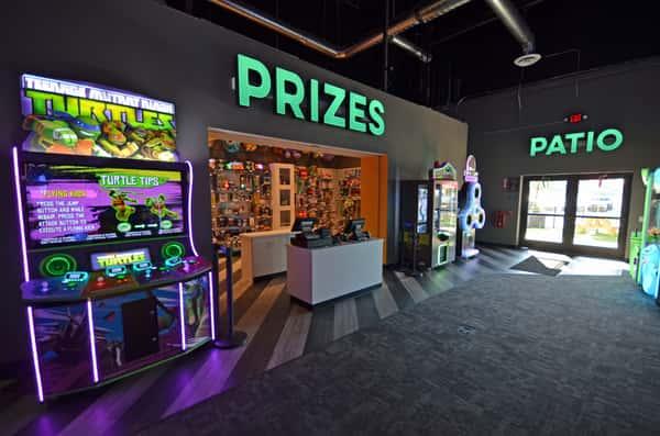 prizes area