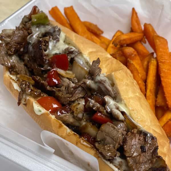 Gaucho Steak Tip Sandwich
