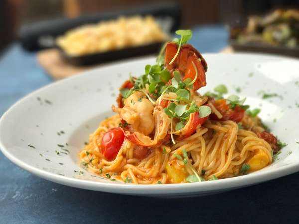 Lobster Spaghettini