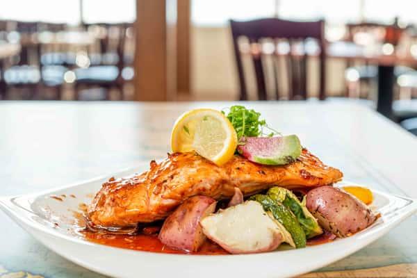 Glazed Salmon*