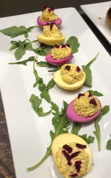 Beets n Deviled Eggs *