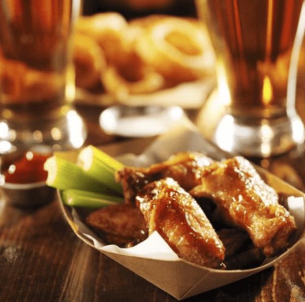 Monday Special: 60 cent wings (minimum 12 per order)
