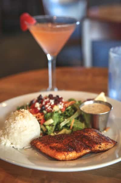 salmon n cocktail