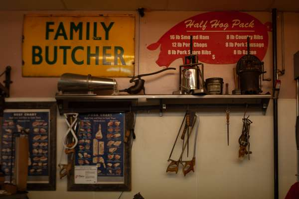 Ye Ole Butcher Shop Memorabilia