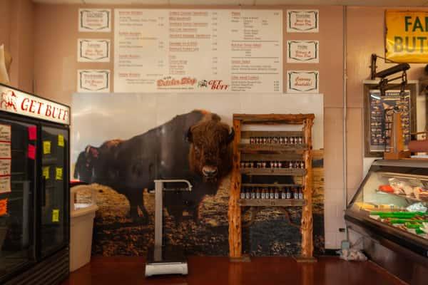 Ye Ole Butcher Shop Interior