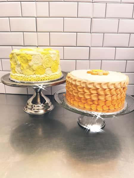 Lemon and Orange cakes
