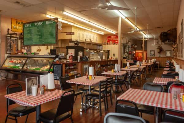 Ye Ole Butcher Shop Dining Area