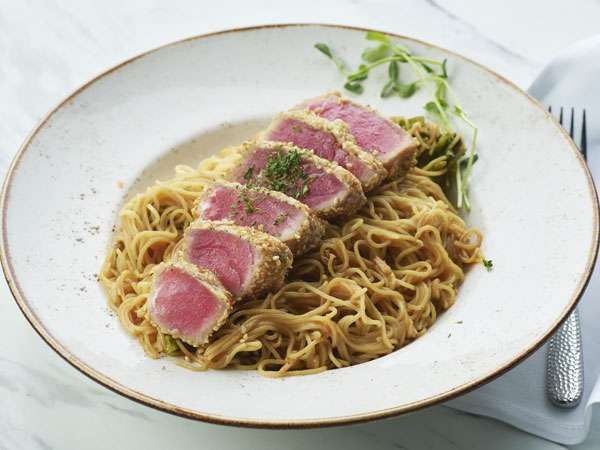 Tuna Steak and Pasta Catering