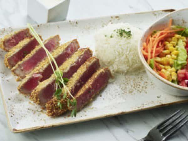 Seared Tuna Platter Catering
