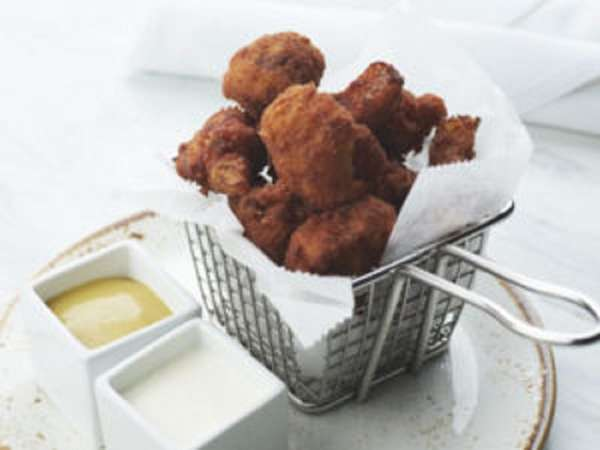Cauliflower Poppers Catering