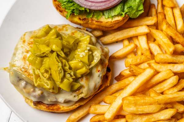 Pepper Jack Burger