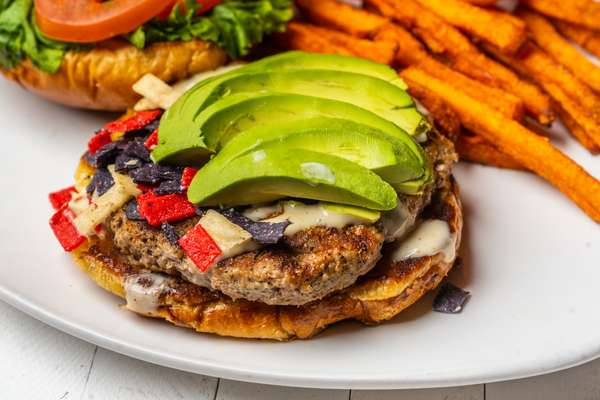 Blackened Turkey Burger