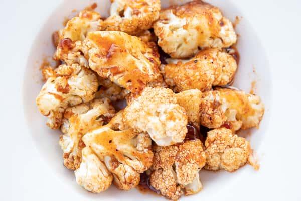 Chili Glazed Cauliflower