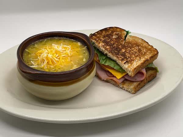 1/2 Deli Sandwich + Soup