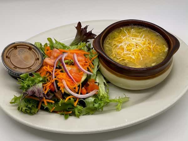 Soup + 1/2 Salad