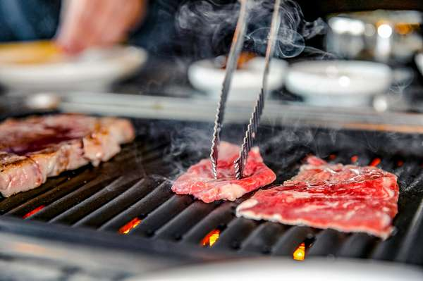 grilled meats