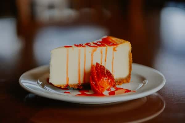 Classic Strawberry Cheesecake
