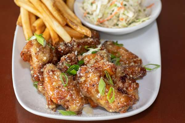 Wings + Sides