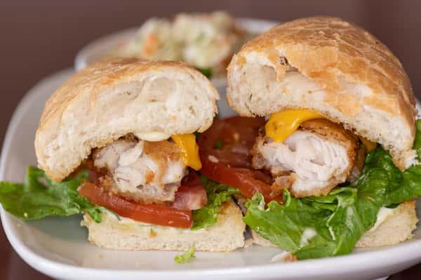 Walleye Sandwich