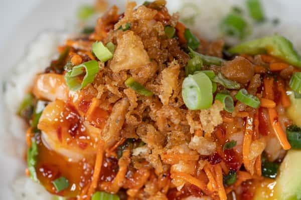 Firecracker Shrimp Bowl