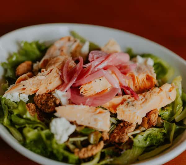 Cold Smoked Salmon Salad