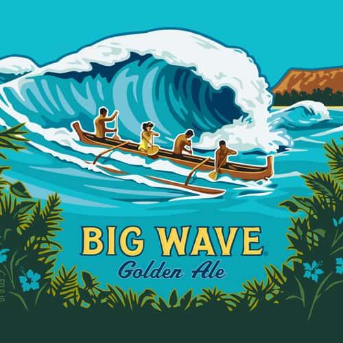 Kona Brewing | Big Wave