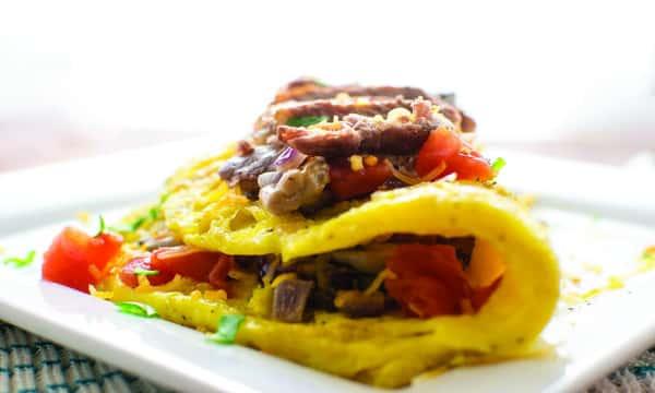 Carne Asada Omelet