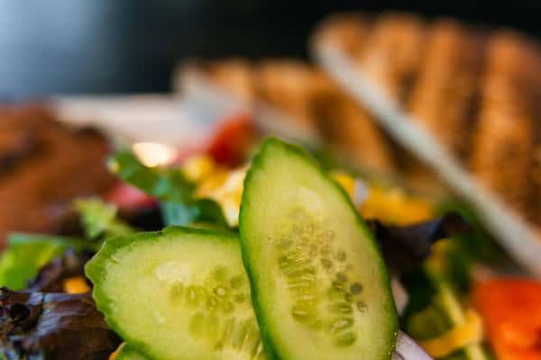 salad macro featuring cucumbers